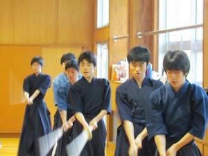 剣道部練習風景1s