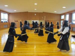 剣道部練習風景3s