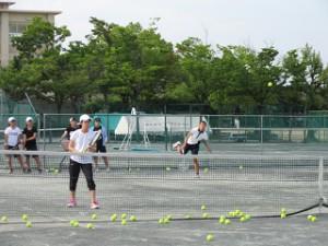 テニス 女子 01s