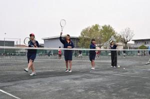 ソフトテニス 女子 01