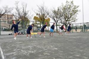 ソフトテニス 女子 03