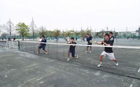 ソフトテニス 男子 01